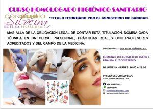 escuela de estetica madrid consuelo silveira higienico sanitario